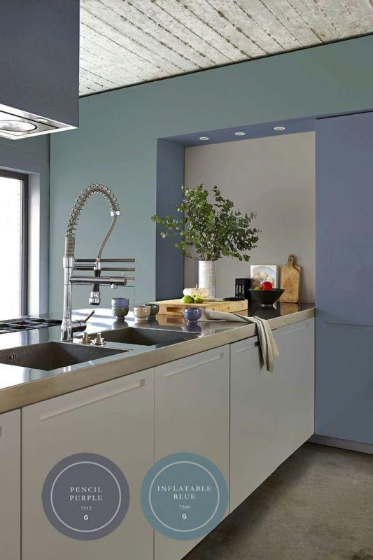 Interieur   Een blauw interieur - fris, modern of toch chique • Stijlvol Styling - WoonblogStijlvol Styling – Woonblog