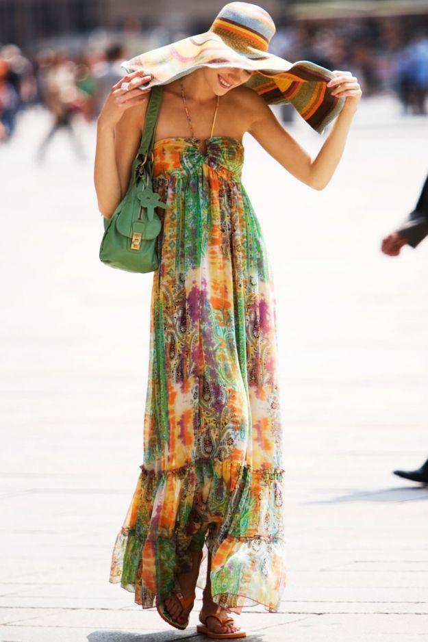 big sale d5682 43eb8 abiti estivi floreali | Vestiti lunghi per l'estate: scegli ...