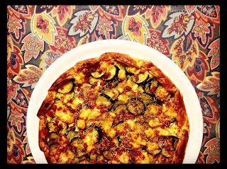 """Colla&Cannella: """"Torta rustica zucchine, prosciutto e groviera"""""""
