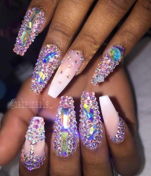 boujee♡nails image | nail art.! | Swag nails, Image nails ...