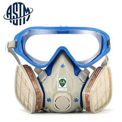 masque de protection au charbon