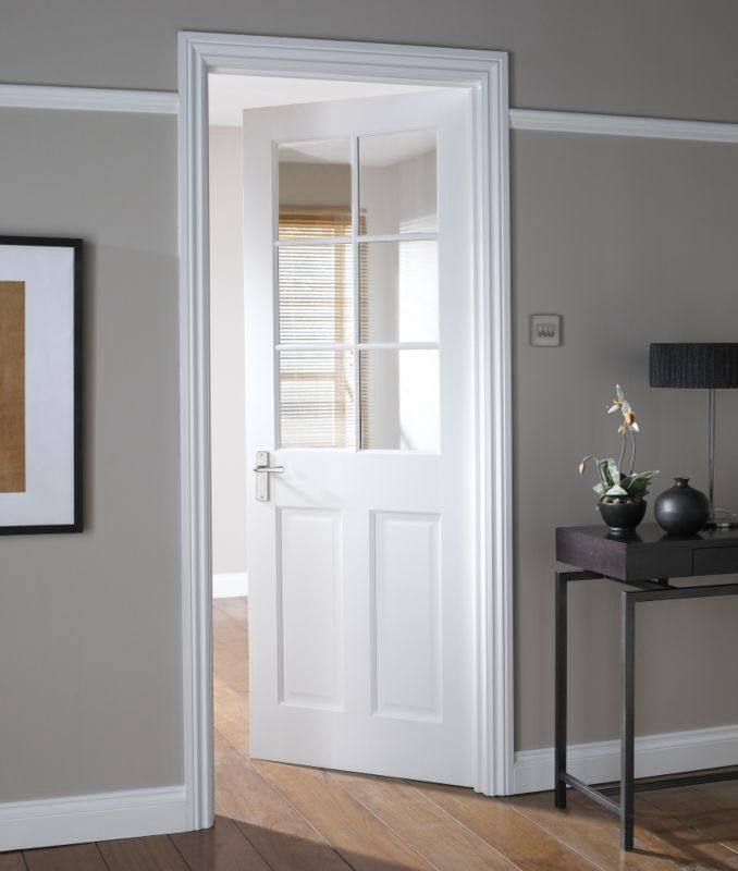 6 Panel Glazed Door Doors Pinterest Doors Internal Doors And