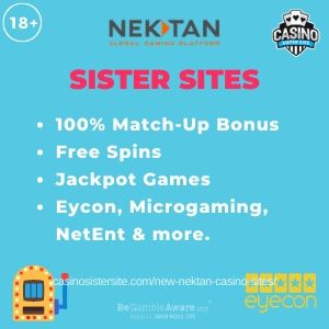 New Nektan Sites