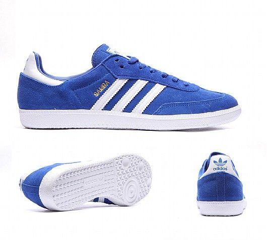 adidas Samba trainers: Bold Blue