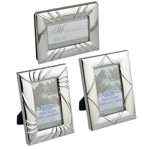 Bulk Mini Silver-Toned Picture Frames at DollarTree.com   Wedding ...