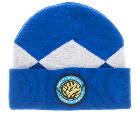 62b4d140655 Power Ranger Blue Ranger Beanie