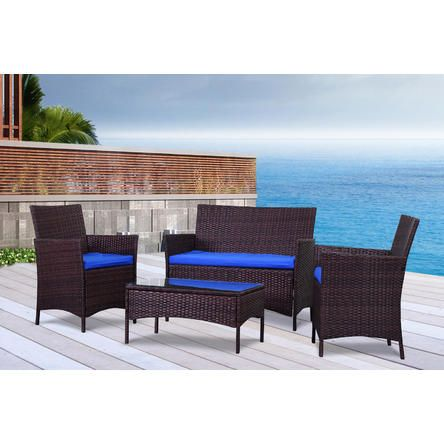 The Wicker House The French Riviera Collection Outdoor Garden