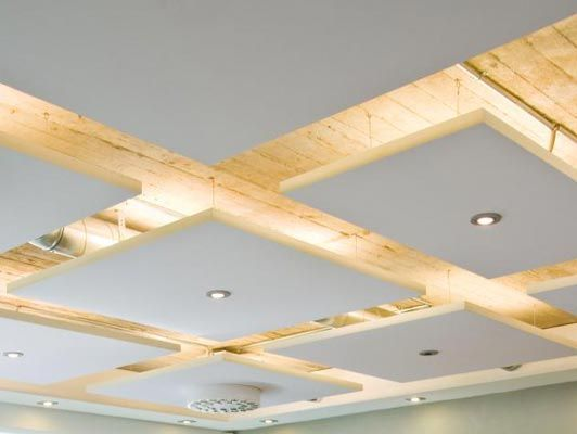 Paneled Ceiling Lighting   By Urban Office   Absolutley Love This Use Of  Light And Material