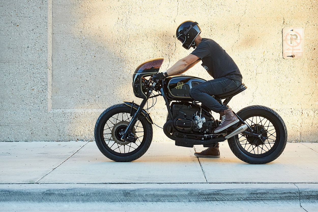 Sibling Rivalry A BMW R100 cafe from Federal's USA shop