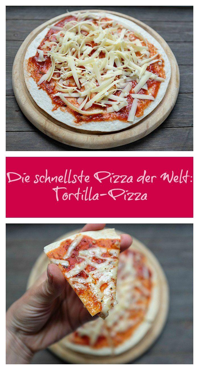 {Feierabend-Küche} Die schnellste Pizza der Welt - Schnelle & einfache Rezepte