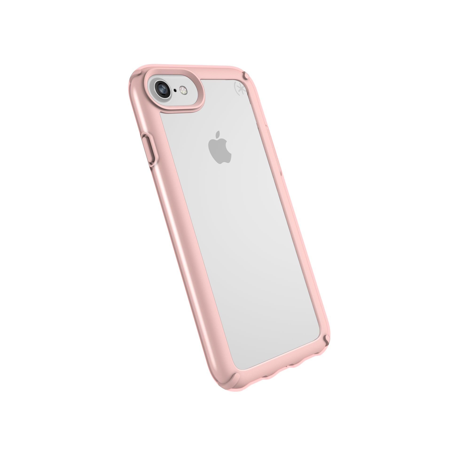 Speck Products Presidio Show Case for iPhone 8 Also Fits 7 6S 6 Clear Rose Gold