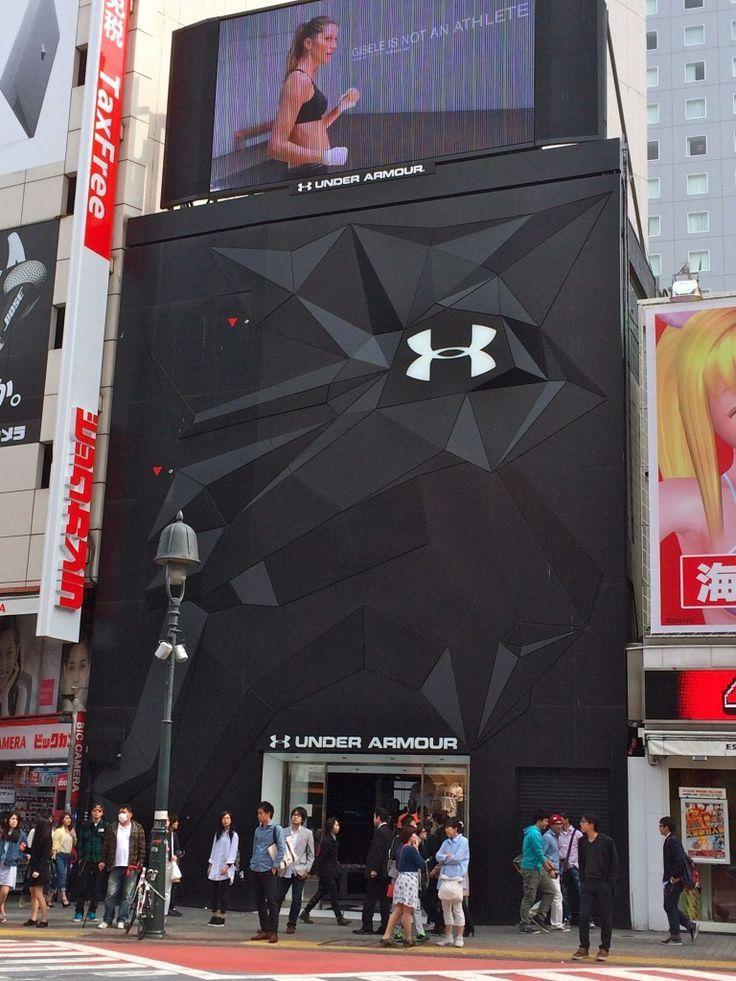oxígeno convergencia Mona Lisa  under armour shops - Buscar con Google | Retail store interior, Retail  facade, Retail store design
