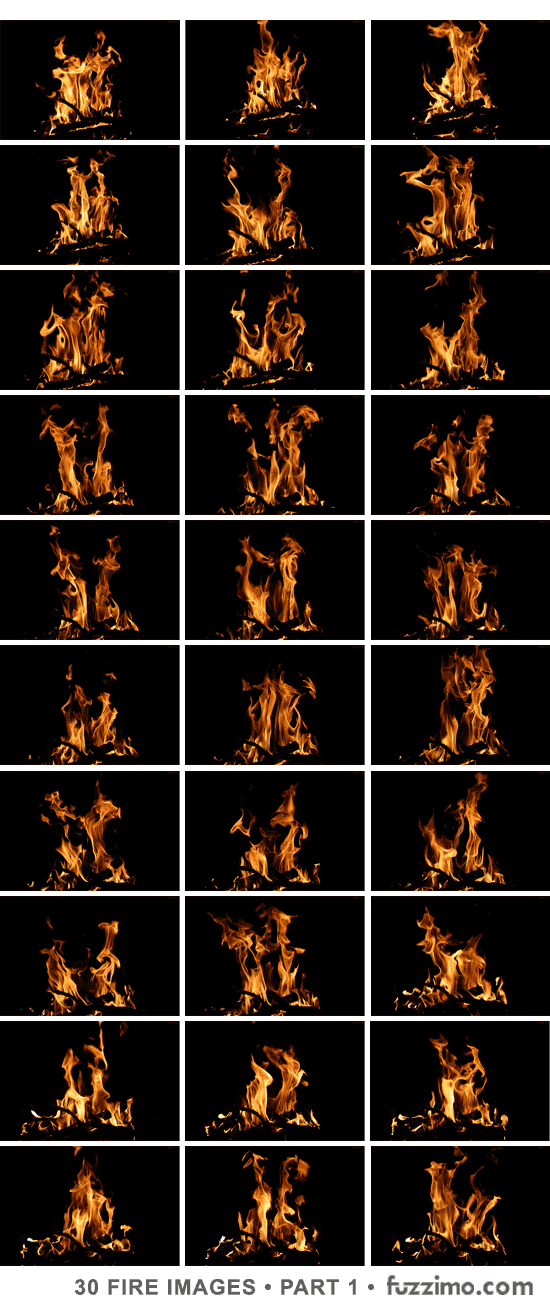 Free Hi-Res Fire Images Part 1 | fuzzimo