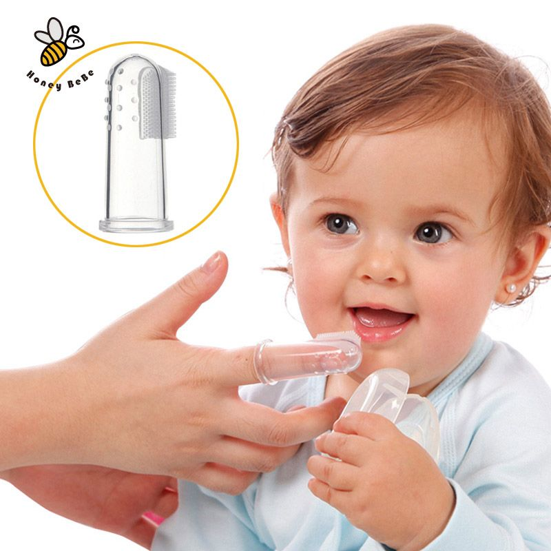 Baby Kids Silicone Finger Toothbrush Children Teeth Clear Gum Brush Infant Deciduous Tooth Brush Massage Children S T Brushing Teeth Baby Toothbrush Baby Brush