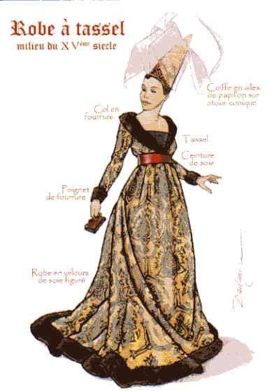 Album 01 Le Moyen Age clothing throughout the ages
