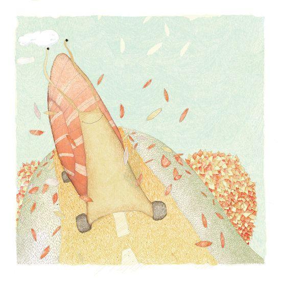 http://www.boumbang.com/lili-wood/ Lili Wood, projet illustration ©