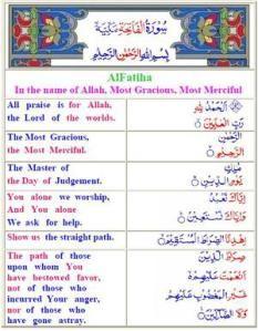 Al Quran Arabic English Translation Colour Coded Quran Arabic Surah Fatiha Quran With English Translation