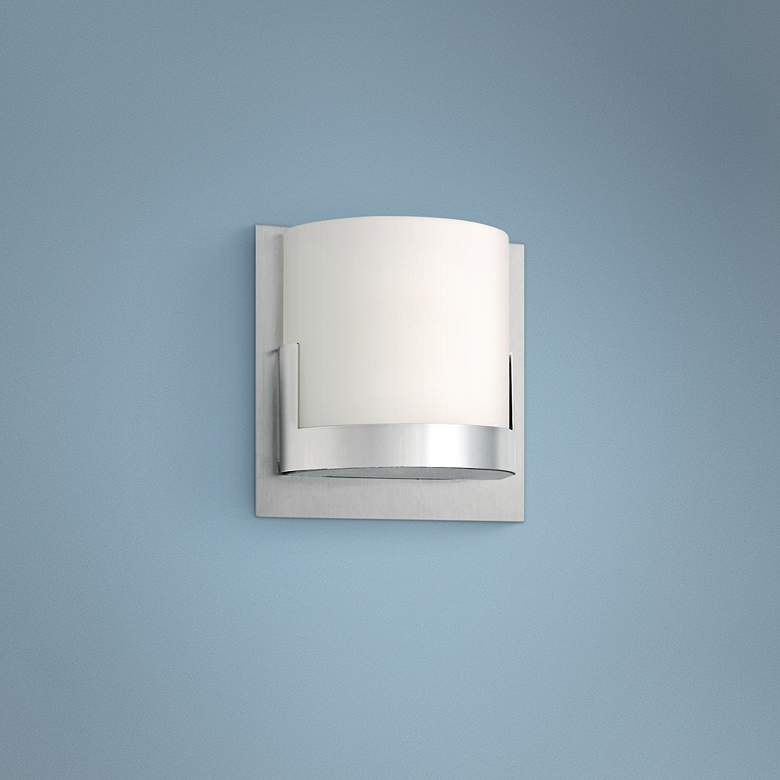 George Kovacs Convex 5 High Wall Sconce P6973 Lamps Plus In 2020 Sconces Wall Lighting Design High Walls