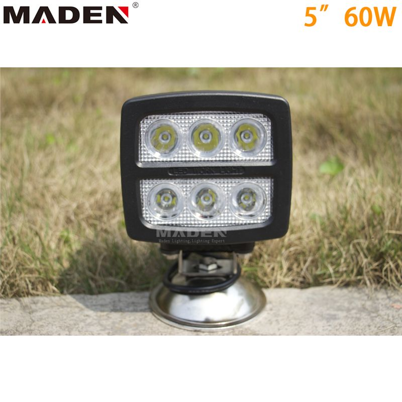 Motorcycle Led Driving Lights 60w Md 5601 Led Power 60w Material Diecast Aluminum Housing Operating Volt 9 32v Led Driving Lights Led Light Bars Led Work Light