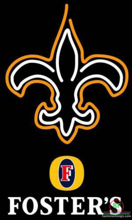 1e1317cf Fosters Orleans Saints Neon Sign NFL Teams Neon Light | Products ...