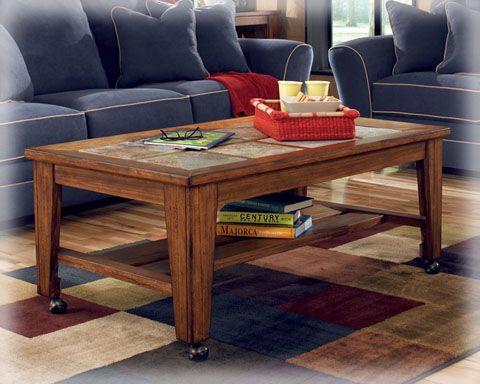 Ashley Furniture Toscana Rich Warm Coffee Table Set Coffee Table Wood Coffee Table Living Room Table Sets