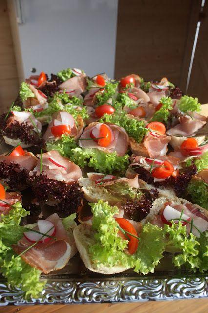 Fingerfood Canapees zum Hochzeitsempfang im Riessersee Hotel Resort Garmisch