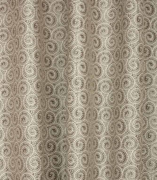 Voyage Decoration Amira Fabric Pewter Just Fabrics