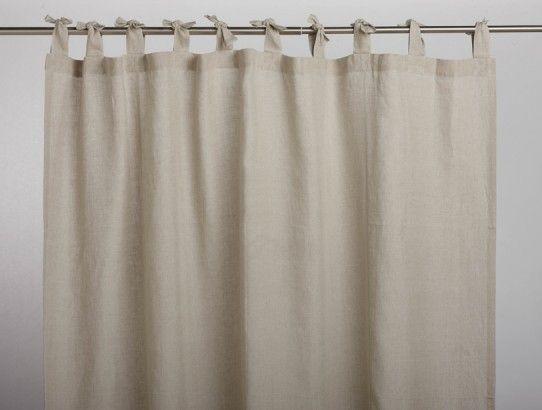 Coyuchi Organic Linen Shower Curtain Curtains Fabric Shower