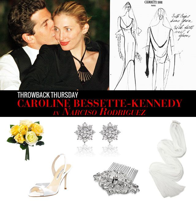 Caroline Bassett Kennedy Wedding Dress