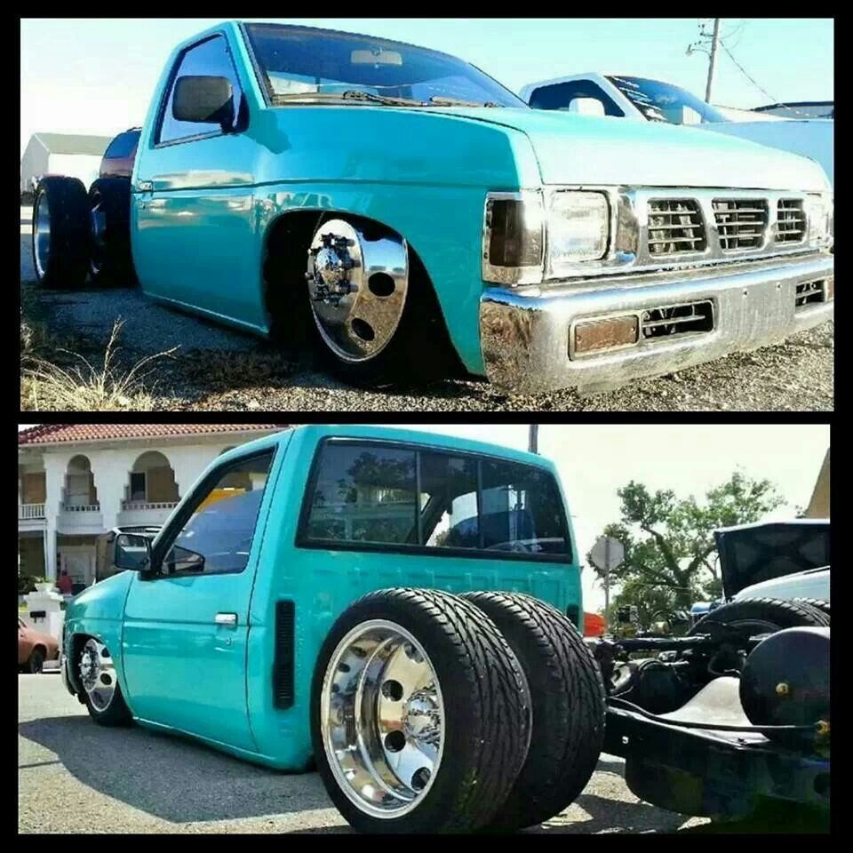 Dually Nissan Hardbody Nissan Hardbody Drift Truck Big Trucks