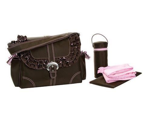 carhartt diaper bag   ... Miss Prissy Buckle Bag Chocolate/Pink - Diaper Bags (2960MISSPCHBL