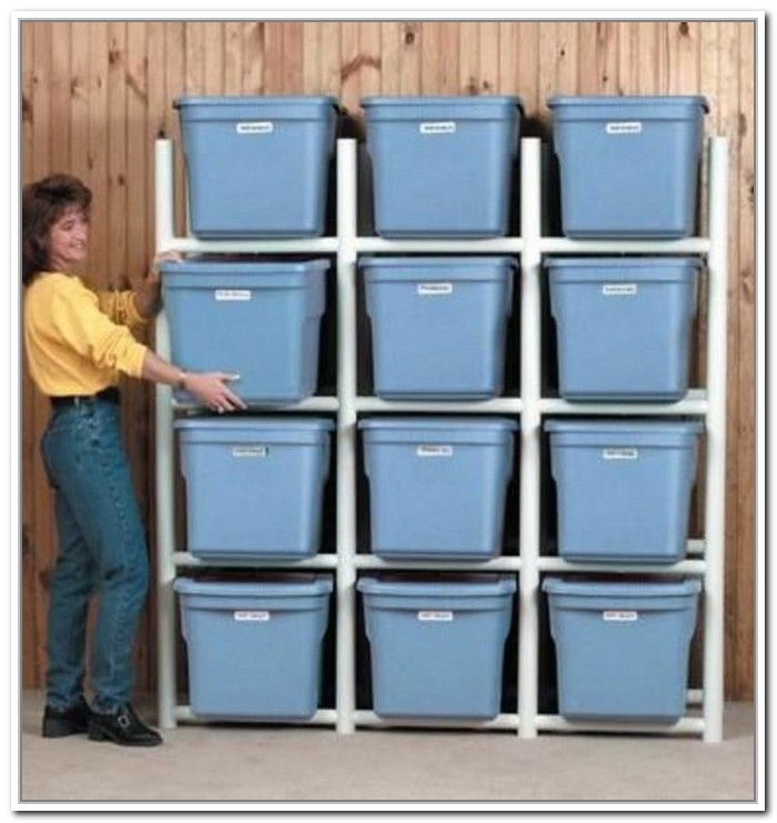 Storage Bin Shelves Diy Storage Pinterest Storage