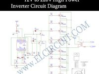 12v To 220v Inverter Dc To Ac Voltage Inverter Tl494 Irfz44n Circuit Circuit Diagram Electronics Circuit