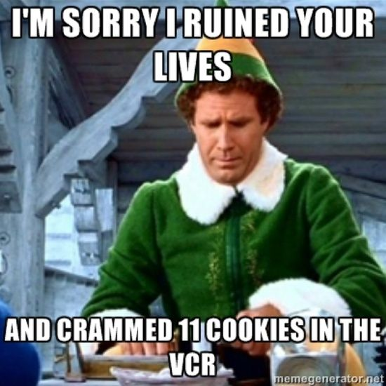 "Elf Quotes Finals Week As Told""elf""  Christmas Quotes Elves And Movie"
