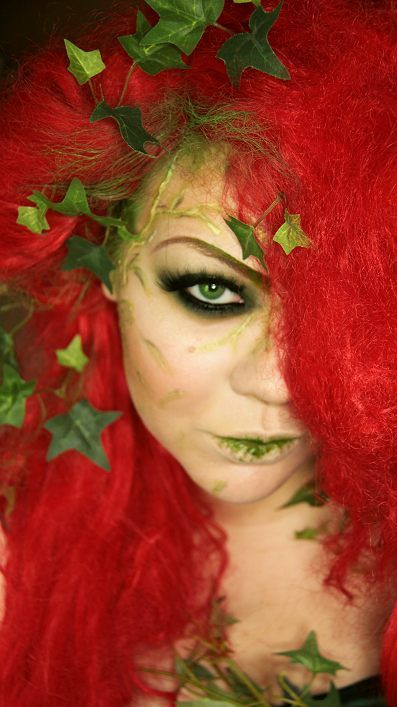 makeup your jangsara tutorial poison ivy