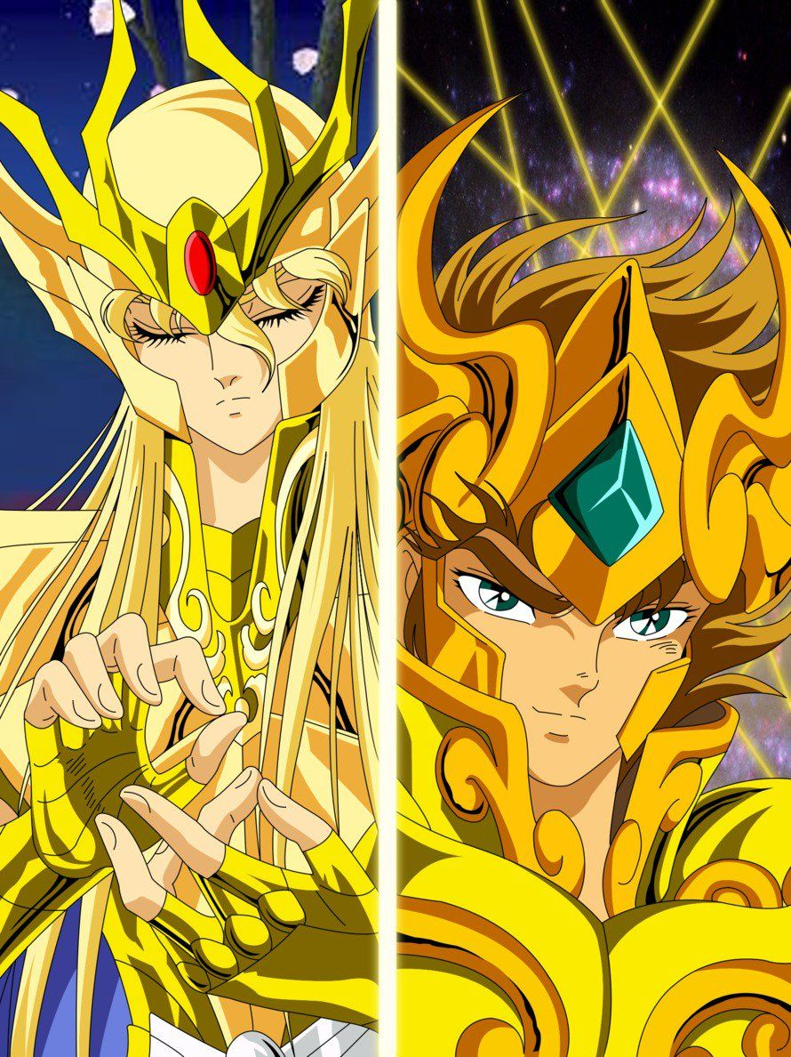 Los Caballeros Del Zodiaco Wallpapers Hd Anime General Saint