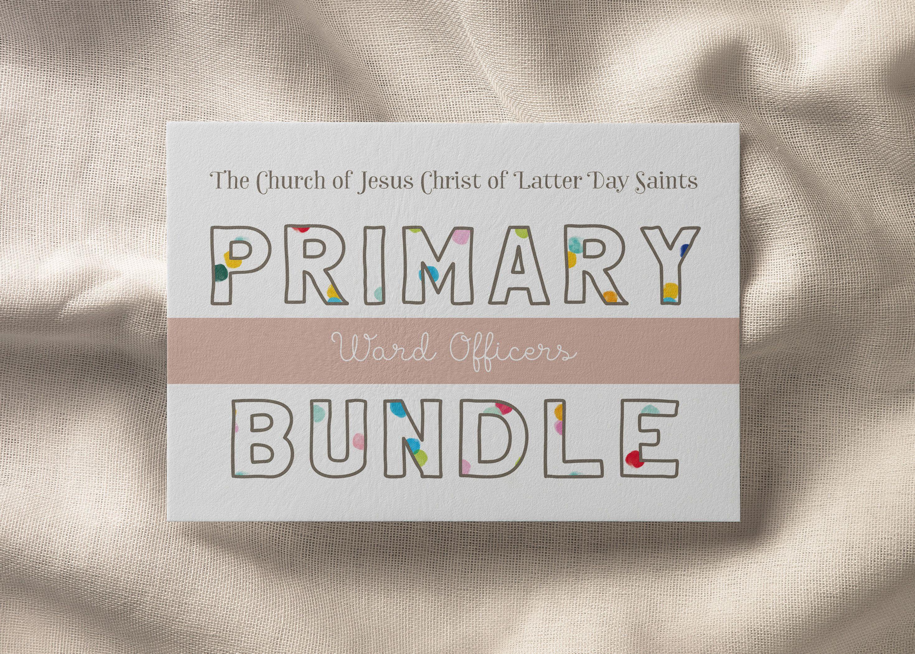 Primary Bundle Editable Amp Printable Primary Leader