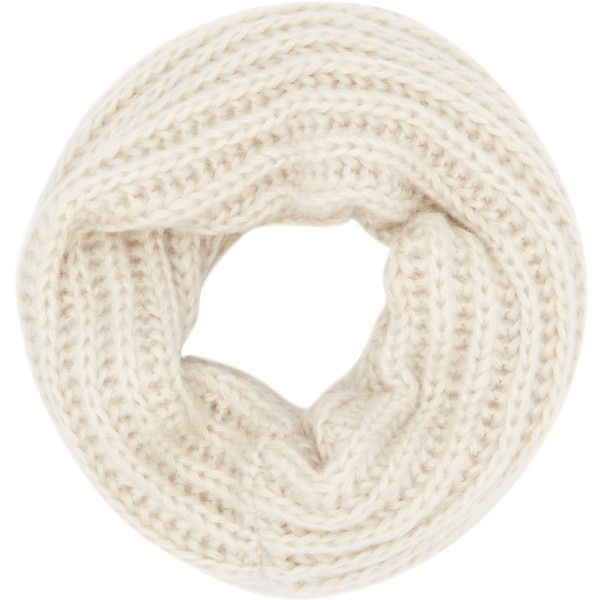 Accessorize Knitted Snood ($20) ❤ liked on Polyvore featuring accessories, scarves and snood scarves