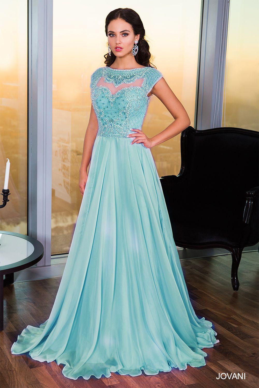 Jovani Style 21030 http://www.jovani.com/blue-dresses | Prom ...