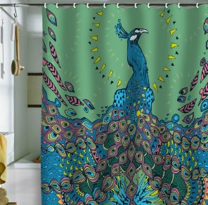 Deny Designs Peacock Shower Curtain Think I M In Love With Al