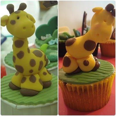 how to make animal cupcakes