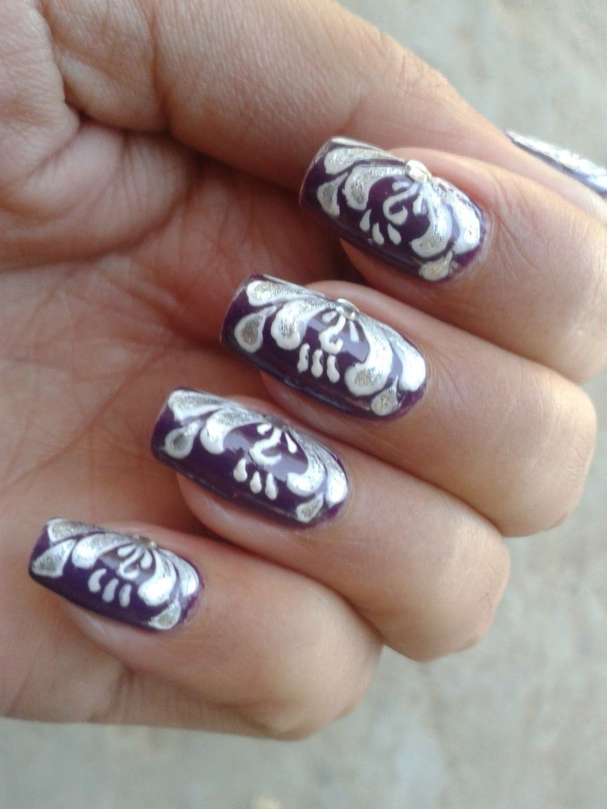 New Designs for Easy Nail Painting Ideas | Nail Design Ideas | Pinterest
