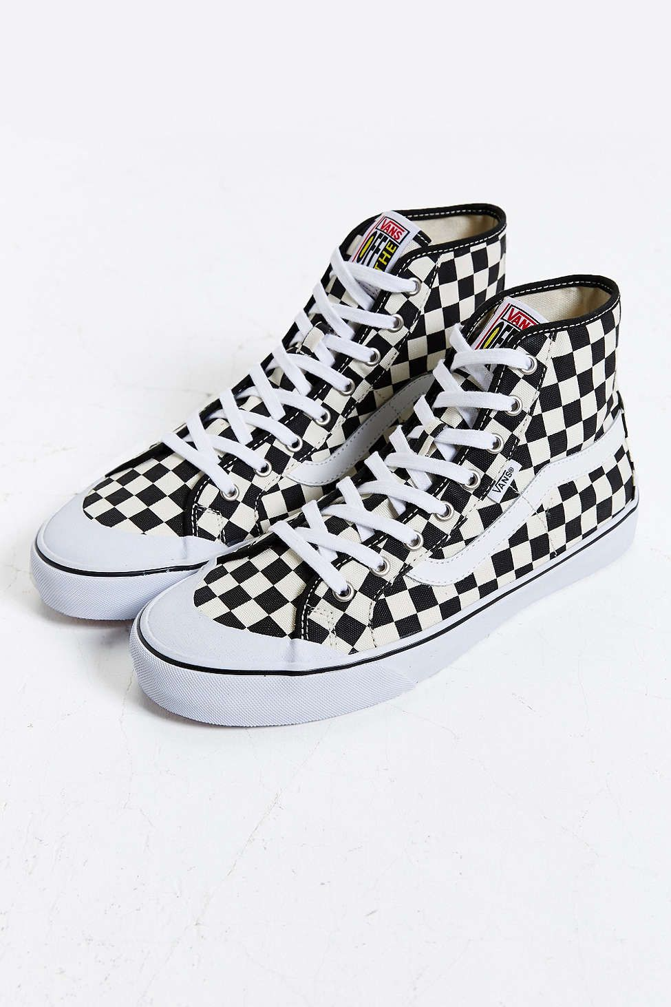 38eb2c3ea0e1 all checkered high top vans Sale