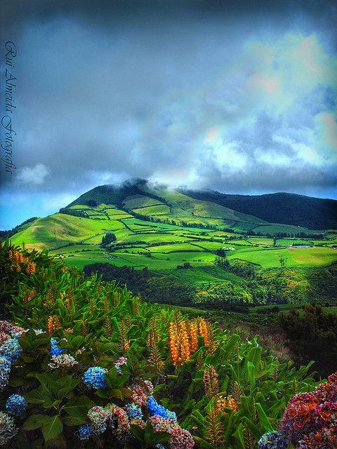 São Miguel Island, Azores, Portugal.