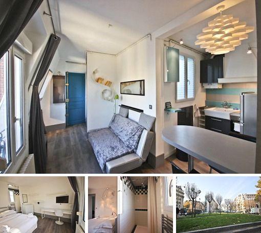 1 bedroom apartment rent paris rue de saussure small spaces rh pinterest ca