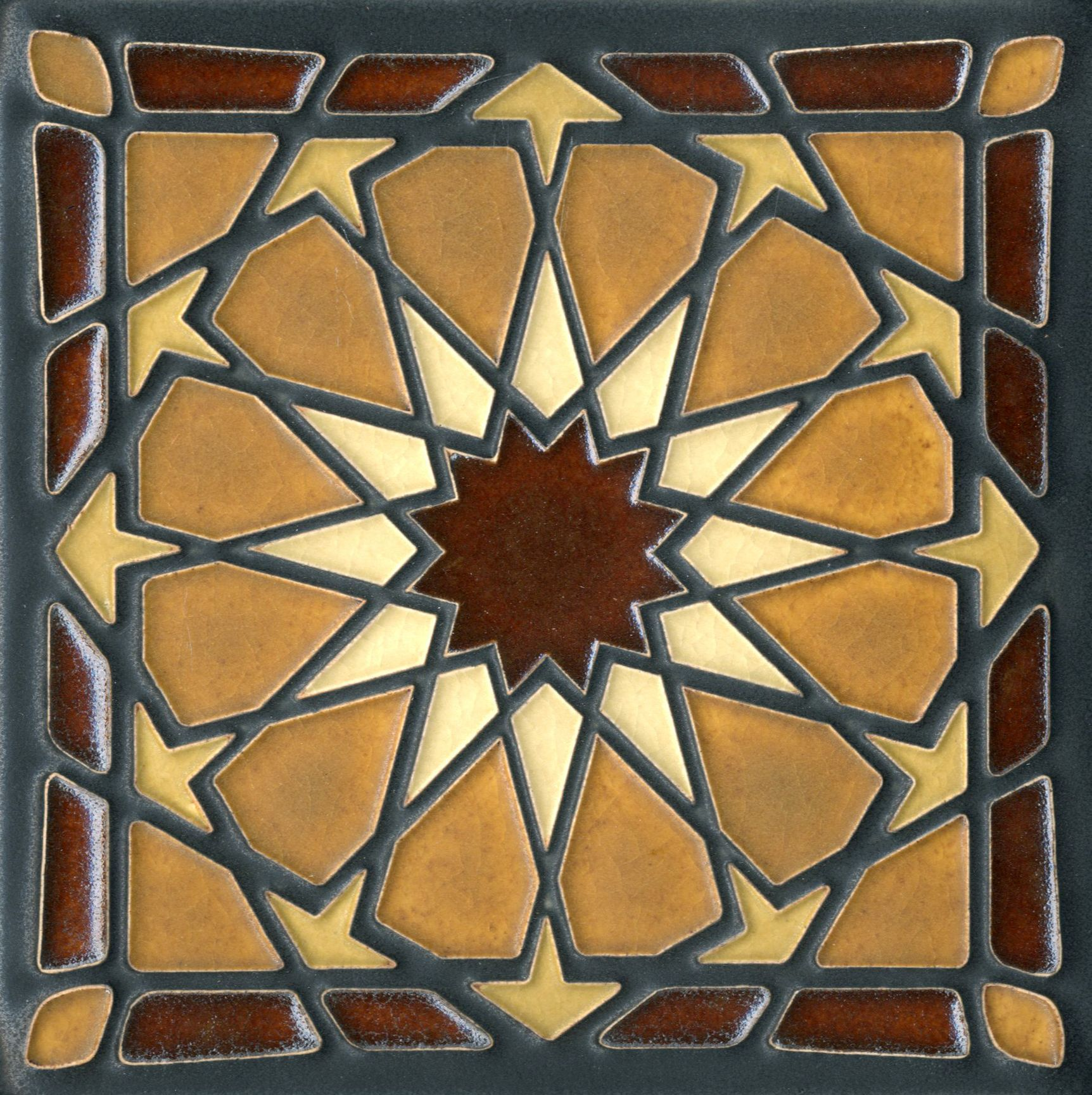6x6 alhambra in brown by motawi tileworks art gcse pinterest 6x6 alhambra in brown by motawi tileworks doublecrazyfo Image collections
