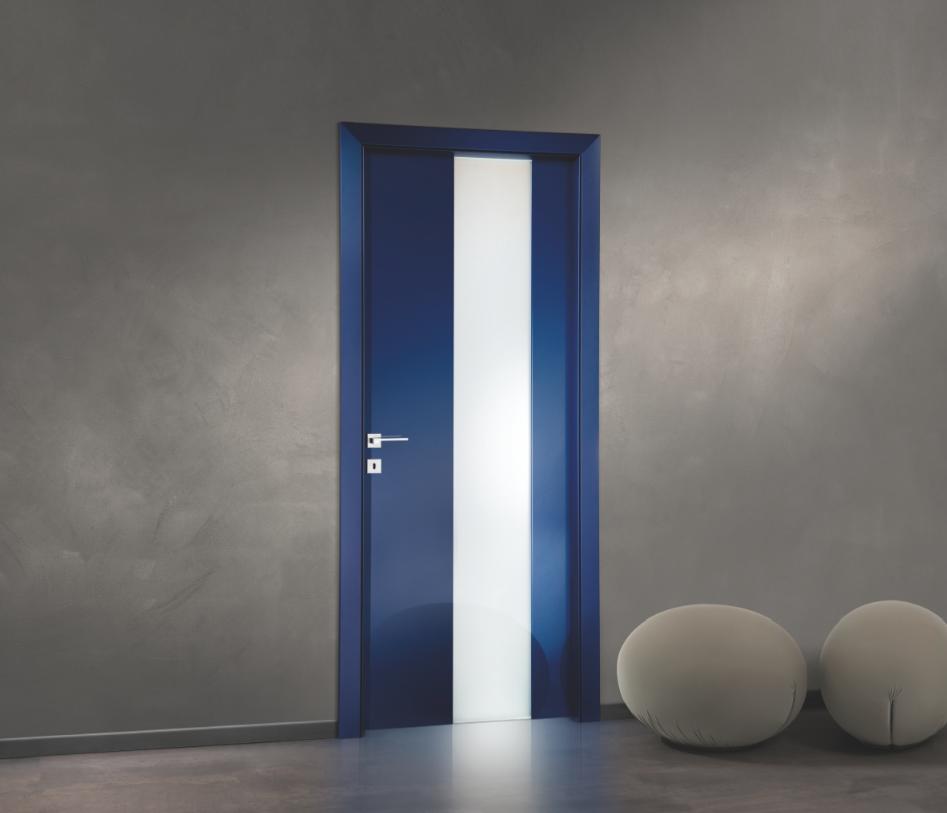 Porta Exit Laccata Blu FerreroLegno