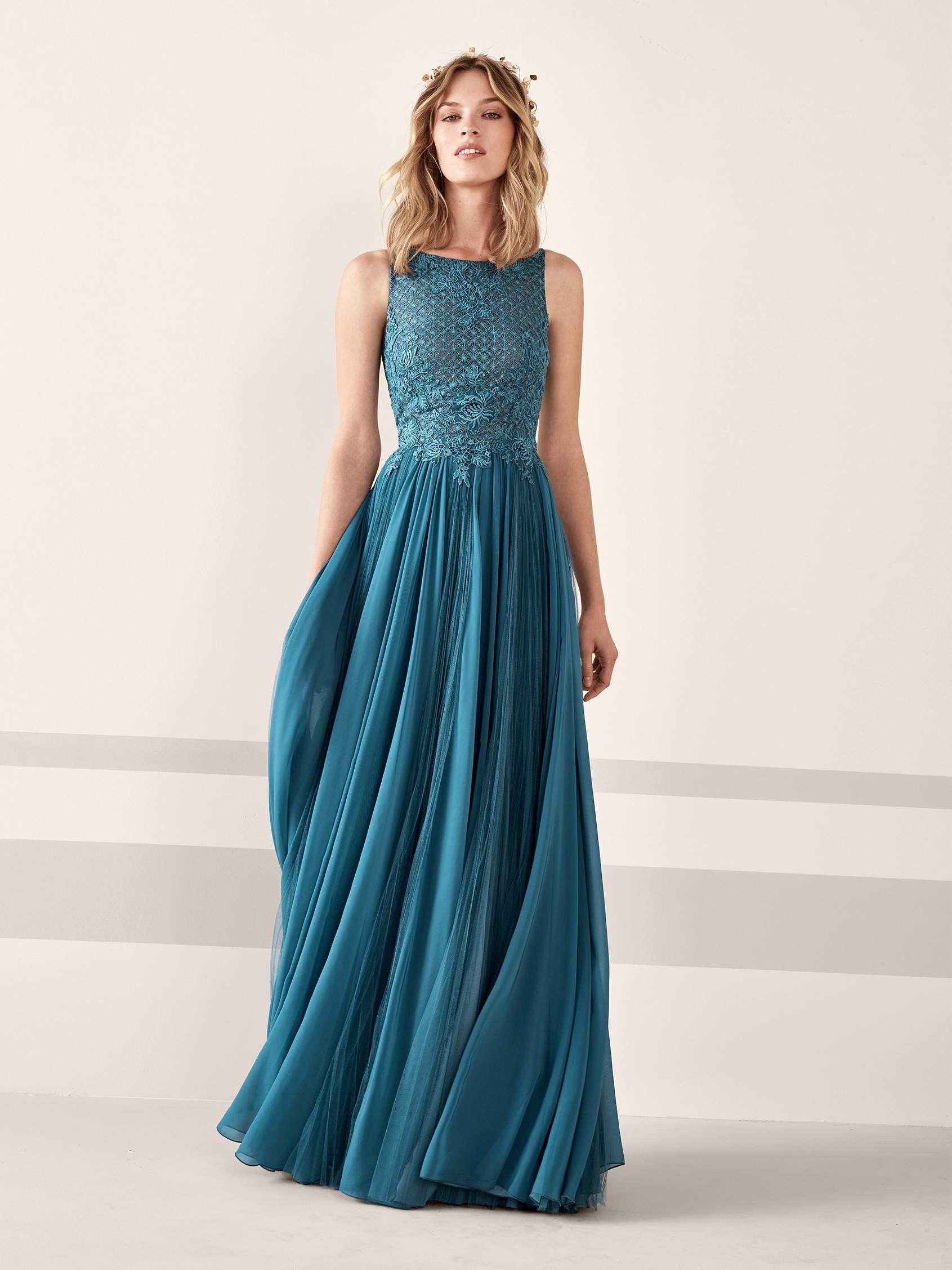 JANA  Un vestido de fiesta inspirado en las ninfas del bosque 7de15cff0771