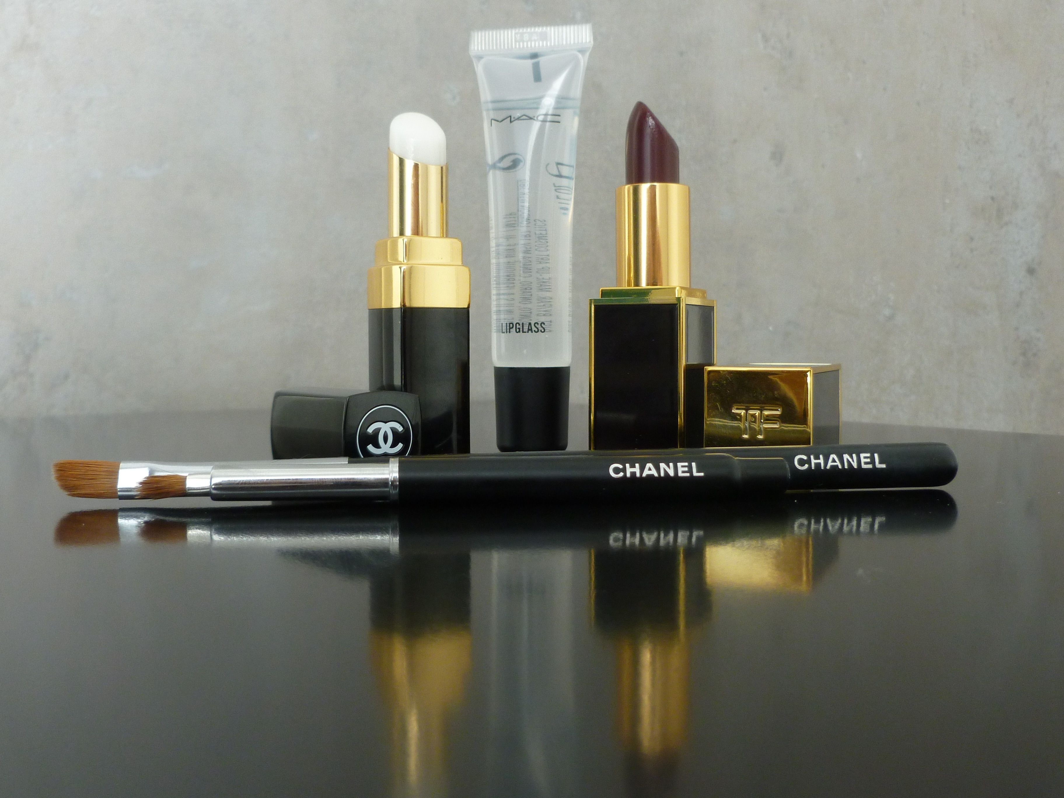 chanel rouge coco baume mac clear lipglass tom ford lip color 18 black orchid - Baume Lvres Color