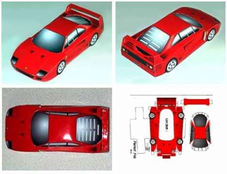 craft templates , paper model toy for kids, free download-able